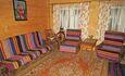 """Усадьба """"Сказка""""  в Беловежской пуще, Большая спальня (23 м кв) с раскладным диваном."""