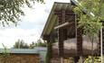 Усадьба «Сопка», Лестница тоже в рустикальном стиле