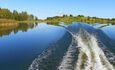 Усадьба «Устье LIFE», на рыбалку под мощным мотором...