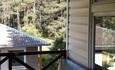 Агроусадьба «Старинки», терасса над баней (летние комнаты)