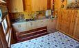 Домик «У Борисовича», Кухня со всей домашней утварью и теплыми полами