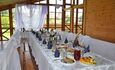 Усадьба «Замковое предместье», Проведение праздников и торжеств в большой закрытой беседке