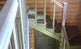 Агроусадьба «Поплавок», Лестница на второй этаж