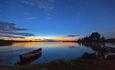 """Центр оздоровления и отдыха """"Полуостров сокровищ"""", Вечернее озеро"""