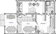 Агроусадьба «Поплавок», План 1-го этажа