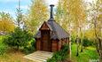 Отдельные домики от 2 до 10 человек, камин,  беседки, бассейн, баня, квадроциклы, рыбалка.