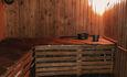 Байдарочная Агроусадьба «Узлянка» , Сауна в основном гостевом доме