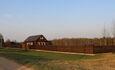 Агроусадьба «Журавинка», Территория усадьбы 1 га.  100 на 100 метров.