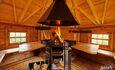 Домик для двоих с камином баней и бассейном, Дом до 10 человек, Семейное бунгало , Гриль домик