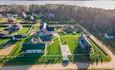 Усадебный комплекс «Бавария», Наша территория на фоне Вилейского водохранилища