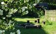 Агроусадьба «Оленья», Лавки вокруг кострища