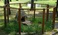 Агроусадьба «Леошки», Вольер для кролика на территории агроусадьбы