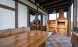 Усадебный комплекс «Бавария», Такие террасы с печью у всех апартаментов