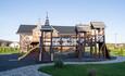 Усадебный комплекс «Бавария», Детская площадка Замок. Два уровня.