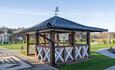 Усадебный комплекс «Бавария», Большая беседка с лежаками с толиками