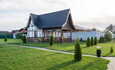 Усадебный комплекс «Бавария», Уютный домик-студия на 4 человека с большой террасой.