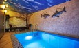 Домик#1 с баней бассейном и верандой