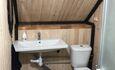 Байдарочная Агроусадьба «Узлянка» , Ванная комната в большом семейном номере