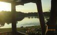 На широких просторах, Вид от дома. Озеро 200* вокруг.