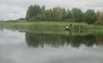 АгроЭкоУсадьба на Браславских озерах., Рыбалка на мостике.