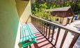 Агроусадьба «На опушке»,  Большой дом вид с балкона.