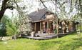 Агроусадьба «Арт-деревня Каптаруны», Дом с китайской беседкой