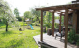 Агроусадьба «Арт-деревня Каптаруны», Дом с китайской беседкой. Нижняя терраса