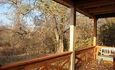 Агроусадьба «Арт-деревня Каптаруны», Дом у пруда. Нижняя терраса