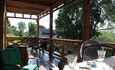 Дом у пруда. Нижняя терраса