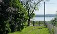 Рай рыбака озеро Свирь | усадьба Набережная, Вид на озеро усадьба Набережная