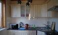 Домик охотника «Вередово», Кухня в маленьком банкетном домике