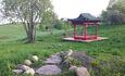 Агроусадьба «Арт-деревня Каптаруны», Китайская беседка. Вид на ландшафт