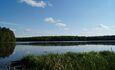 Агроусадьба «Гостиное подворье», Можно искупаться в чистом озере, либо порыбачить с берега.