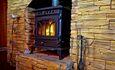 Усадьба «Устье LIFE», Релакс около горящего камина....