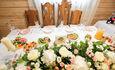 Стол жениха и невесты.