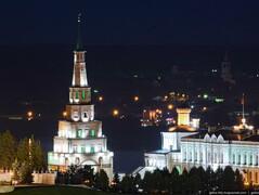 Казань вечерняя