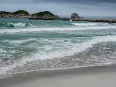 Белые пески бухты Триозерье