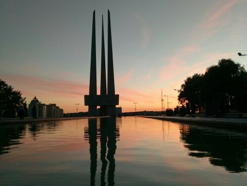 Полет на вертолете над Киевом