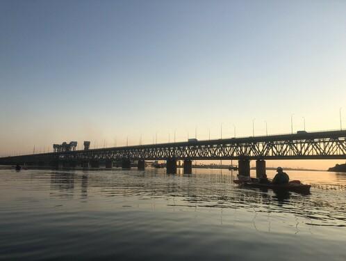 Вечерняя прогулка-экскурсия на каяках по Днепру