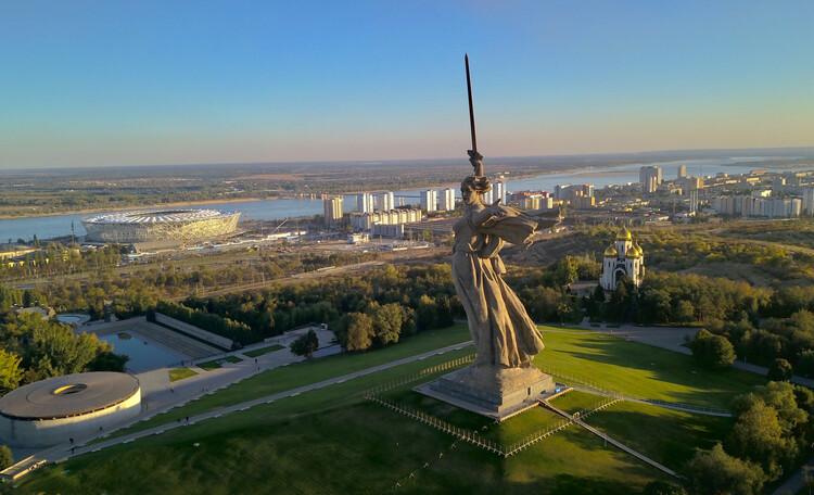 Волгоград - город трёх эпох