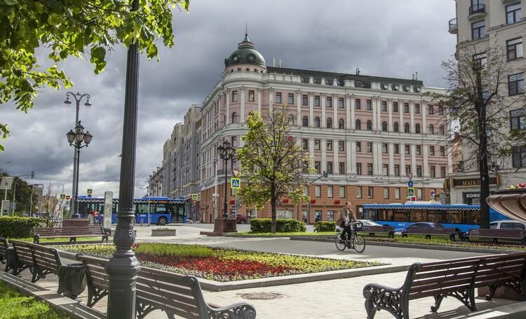 Ожерелье Московских бульваров