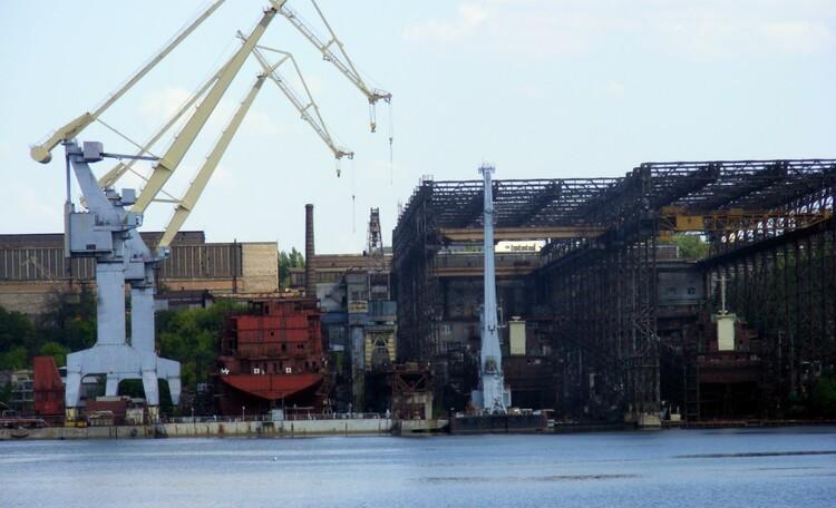 История судостроения города Николаев