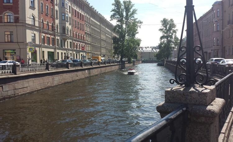 По набережной канала Грибоедова «От Сенной до Семимостья»