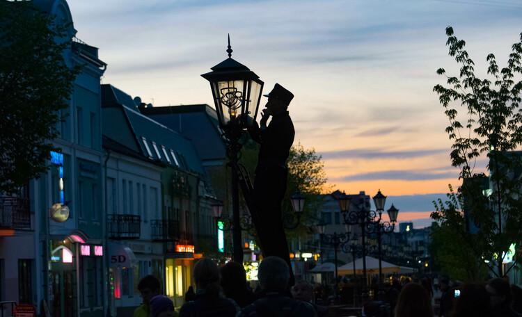 Прогулка по вечернему Бресту