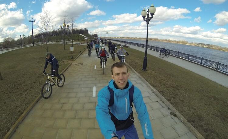 Ярославль на велосипеде
