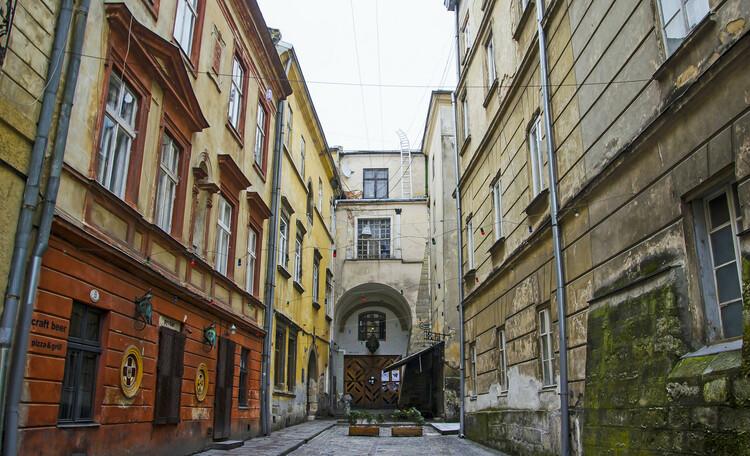 Средневековые кварталы Львова