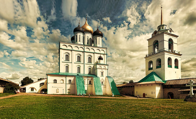 Вольный, стольный город Псков