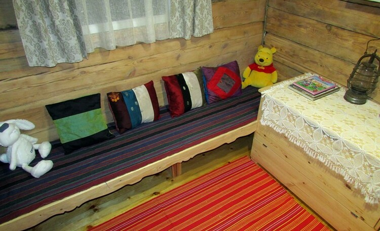 """Усадьба """"Сказка""""  в Беловежской пуще, Детская комната."""