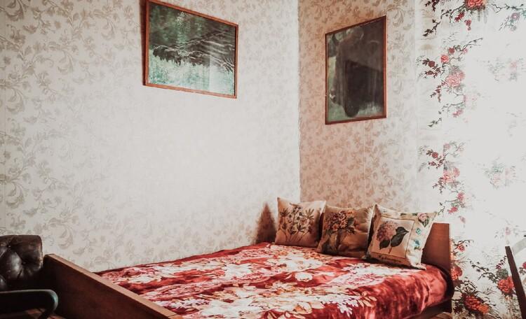 Агроусадьба «Пущанский дворик», Комната с двуспальной кроватью