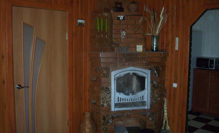 У Бондара на Загрэблі, Осенью можно погреться у камина